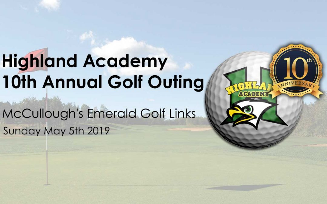 2019 Highland Academy Golf Outing